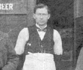 1899 401 E. Market St. Georg Balluf Saloon.